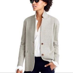 J Crew Merino Wool Sweater Blazer - Size Small